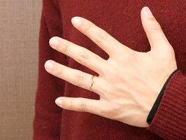 【送料無料】結婚指輪マリッジリングペアリングプラチナイエローゴールドk18ダイヤモンドスイートペアリィー結びリングpt90018金華奢コンビ