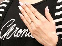 【送料無料】結婚指輪マリッジリングペアリングプラチナピンクゴールドk10ダイヤモンドスイートペアリィー結びリングpt90010金華奢ストレート地金リングコンビ