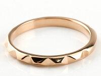 【送料無料】ペアリングマリッジリング結婚指輪ピンクゴールドk10ホワイトゴールドk10ストレートカップル10金宝石なし地金メンズレディースクリスマスプレゼント