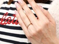 【送料無料】ペアリングマリッジリング結婚指輪ピンクゴールドk18ストレートカップル18金宝石なし地金メンズレディースクリスマスプレゼント