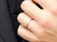 【送料無料】スイートペアリィーインフィニティペアリング結婚指輪マリッジリングダイヤモンドイエローゴールドpt900プラチナ900S字つや消し一粒18金華奢クリスマス