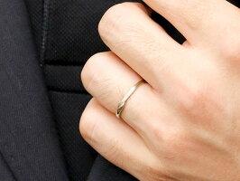 【送料無料】スイートペアリィーインフィニティペアリング結婚指輪ダイヤモンドピンクゴールドpt900プラチナ900S字つや消し一粒18金華奢ストレートクリスマス
