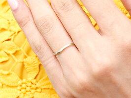 【送料無料】スイートペアリィーインフィニティペアリング結婚指輪マリッジリングダイヤモンドプラチナリングV字つや消し一粒pt900華奢クリスマス
