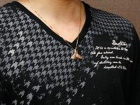 【送料無料】メンズハワイアンジュエリーホエールテールクジラ鯨キュービックジルコニアネックレスピンクゴールドペンダント天然石k1818金人気宝石
