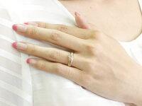 ピンクトルマリンプラチナリング指輪ダイヤモンドダイヤスパイラルリングピンキーリング10月誕生石ストレートファッションリング