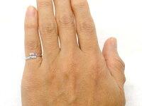 【送料無料】ピンキーリングダイヤモンドリングダイヤモンドピンクサファイアホワイトゴールドk18指輪18金ダイヤ9月誕生石ストレート