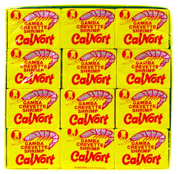 【6,480円以上で送料無料】 スペイン製 シュリンプ(エビ)ブイヨン 36包入 < シュリンプブイヨン エビブイヨン 海老 魚介 コンソメ スープ 出汁 スペイン パエリア 調味料 Carnort >