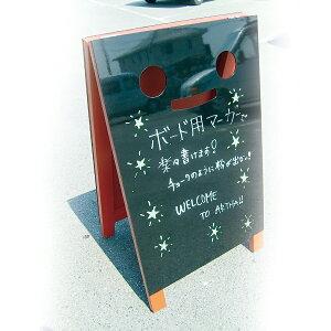A型看板(LL)ブラッキーさん赤マーカータイプ9014464木製両面タイプ