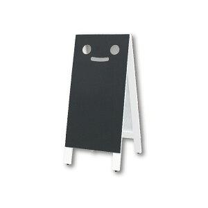 A型看板(L)ブラッキーさん白マーカータイプ9014467木製両面タイプ