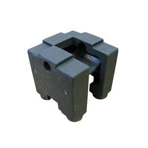キューブウェイト転倒防止用ウエイトZNB-キューブウェイト-60店頭看板設置用ウエイト重し