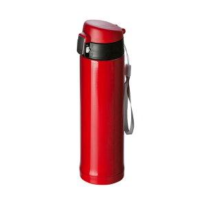 ワンタッチスリムボトル260ml赤113246ステンレス製・COLDHOT両方OKタンブラー・水筒ギフト・プレゼントにもおすすめ※名入れ別途お見積もり