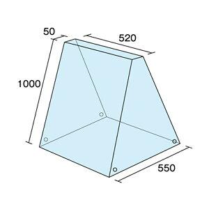 A型看板ビニールカバーKCV-520H1000xW520xD550mm雨カバー