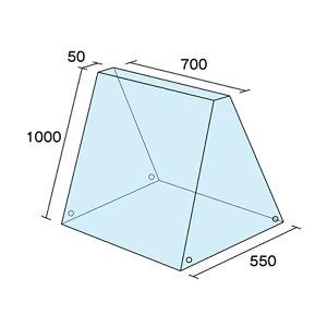 A型看板ビニールカバーKCV-700H1000xW700xD550mm雨カバー