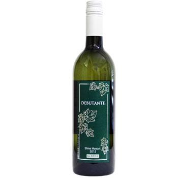 アルプスワイン DEBUTANT シャインマスカット2012 白ワイン 辛口 日本ワイン 国産 山梨