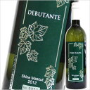 DEBUTANT シャインマスカット2012 アルプスワイン/[甲州ワイン][白ワイン][国産ワイン][日本ワイン][山梨 ワイン]