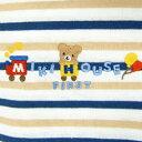 ミキハウス正規販売店/ミキハウス mikihouse 【BOX M付】ボーダーTシャツ上下セットギフト〈フリー(70・80cm)〉 2