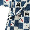 ミキハウス正規販売店/ミキハウス ダブルビー mikihouse とんぼ&金魚柄甚平スーツ(120cm・130cm) 3