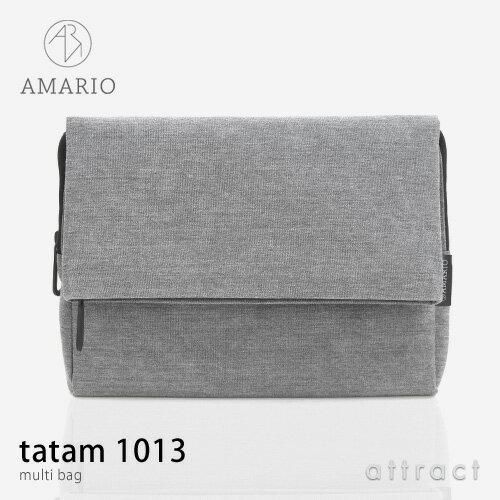 アマリオ AMARIO タタム 1013 tatam 1013 マルチバッグ multi bag カラー:全3色 10〜13インチ対応...