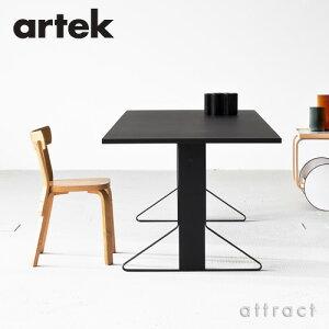【正規取扱店】Artek(アルテック)KAARITABLEREB001カアリテーブルサイズ:200×85cm(厚み2.4cm)天板(ライトグレーリノリウム)脚部(ナチュラルオーク)デザイン:ロナン&エルワン・ブルレックダイニングテーブルフィンランド北欧