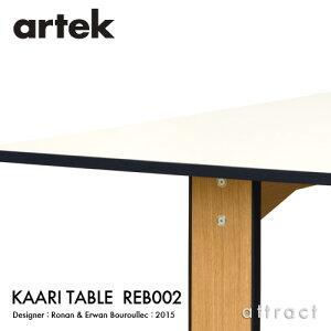 【正規取扱店】ArtekアルテックKAARITABLEREB002カアリテーブルサイズ:240×90cm厚み2.4cm天板ライトグレーリノリウム脚部ナチュラルオークデザイン:ロナン&エルワン・ブルレックダイニングテーブル
