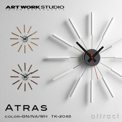 アートワークスタジオ ART WORK STUDIO アトラス ATRAS ウォールクロック WALL CLOCK 掛け時計 イ...