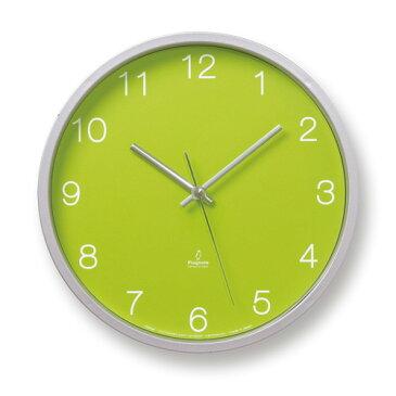 レムノス Lemnos タカタ ベーシック クロック Basic clock 壁掛け時計 ウォールクロック デザイン:森 豊史 PC06-25W カラー:2色 Φ300mm 電波ステップムーブメント 【RCP】 【楽ギフ_包装】 【楽ギフ_のし宛書】 【HLS_DU】