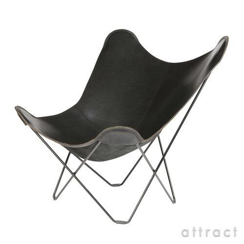 BKFチェア BKF Chair クエロ cuero Butterfly Chair バタフライチェア PAMPA MARIPOSA BLACK パンパ マリポサ マリポーサ ブラック スチールフレーム・ベジタブルタンニンなめし革 【RCP】【smtb-KD】