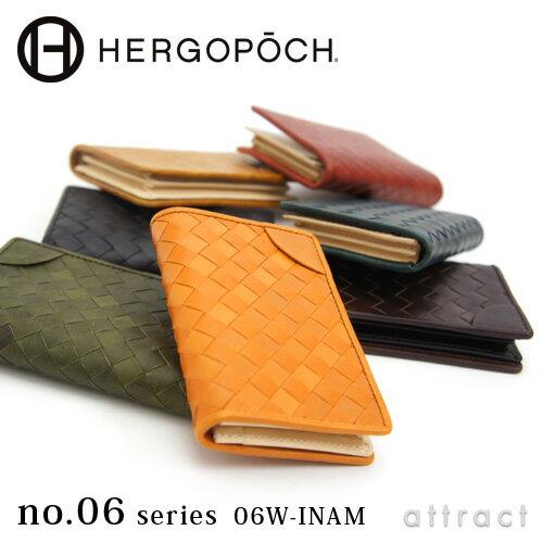 エルゴポック HERGOPOCH Waxed Leather ワキシングレザー 06W-INAM Card Case カードケース 名刺入...