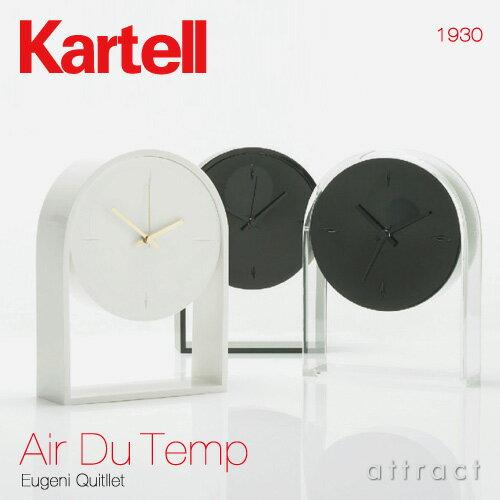 置き時計・掛け時計, 置き掛け兼用時計  Kartell Air Du Temp 1930 PMMA 3 RCPsmtb-KD