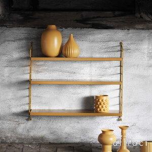 ストリングstringポケットpocketウォールシェルフ壁面収納シェルフシステムカラー:全5色3段デザイン:ニルス・ストリニング組み立てスウェーデン【RCP】【smtb-KD】