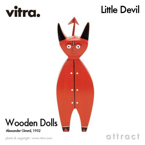ヴィトラ Vitra Wooden Dolls ウッデン ドール Little Devil リトルデビル 木製ギフトボックス付 デザイン:Alexander Girard アレキサンダー・ジラード デザイナー イームズ【RCP】【smtb-KD】