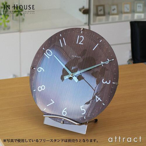 インハウス IN HOUSE Dome Clock ドームクロック サイズ:M Φ29cm NW31 ウォールクロック 壁掛け...