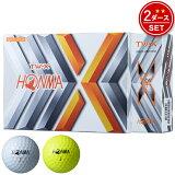 【2ダース】ホンマゴルフ TW-X ゴルフボール2ダース/24個入り#HONMA#本間ゴルフ#ツアーワールド#TWX