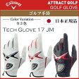 【新品】【日本正規品】【2017年モデル】キャロウェイ Tech Glove 17JMメンズゴルフ手袋(左手用)[CW/Callaway/テックグローブ17JM]