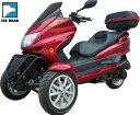 乗って嬉しい、見て楽しい!!普通免許でOK逆トライクファルコン150cc