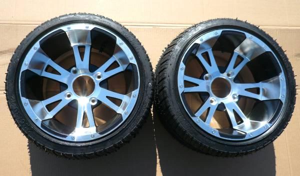 ATVバギー用12インチホイール&タイヤ2本セットH083J