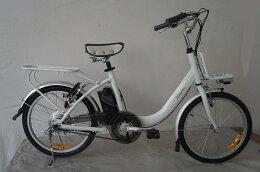 20インチ電動アシスト自転車EW2003ホワイト