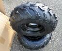 ATV 四輪バギー 7インチ PCD110 16x8-7チュブレスタイヤホイール左右2本セットATV12 H-125