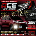 [RSL]【あす楽対応】軽自動車専用HIDバルブ H8 遂に販売開...
