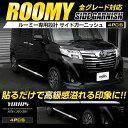 [RSL]【あす楽対応】ルーミー ROOMY 専用 メッキ ガーニッシ...