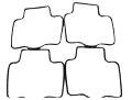 キャブレターフロートパッキン4個セット