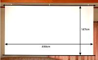 ホワイトマットスクリーンHS−100W
