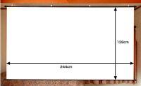 ホワイトマットスクリーンHS−110W