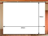 120インチ(4:3)タペストリー型