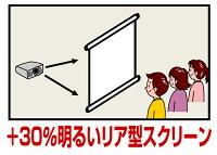 プロジェクタースクリーンリア投影型60インチ(4:3)RS-60日本製