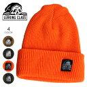 【ラスイチSALE/16%OFF】 LURKING CLASS ラーキングクラス ビーニー メンズ TAG BEANIE 2020秋冬 ブラック/オレンジ/オリーブ/ブラウン フリーサイズ 【evi】