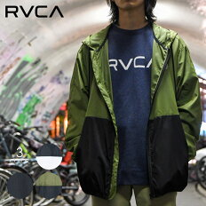 RVCAルーカジャケットメンズHEXSTOPVAJACKET2020秋冬ブラック/グリーン/ホワイトS/M/L/XL