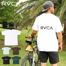 RVCAルーカTシャツメンズBACKRVCATEE2020春夏ブラック/ブラウン/グリーン/ライトブルー/ホワイトS/M/L