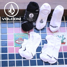 VOLCOMボルコムソックスメンズSTONESNSHWSOCK3PKD63218032019春夏ブラック/ホワイトワンサイズ