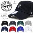 キャップ メンズ 47 Brand YANKEES Baserunner '47 CLEAN UP - BSRNR17GWS 【 NY ニューヨーク ヤンキース コットン 定番 ベーシック ミニロゴ ストリート MLB 】 [evi]